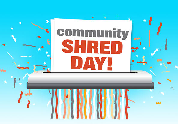 Shred It Day – Thursday, April 18th – Noon to 4pm – Canby Area
